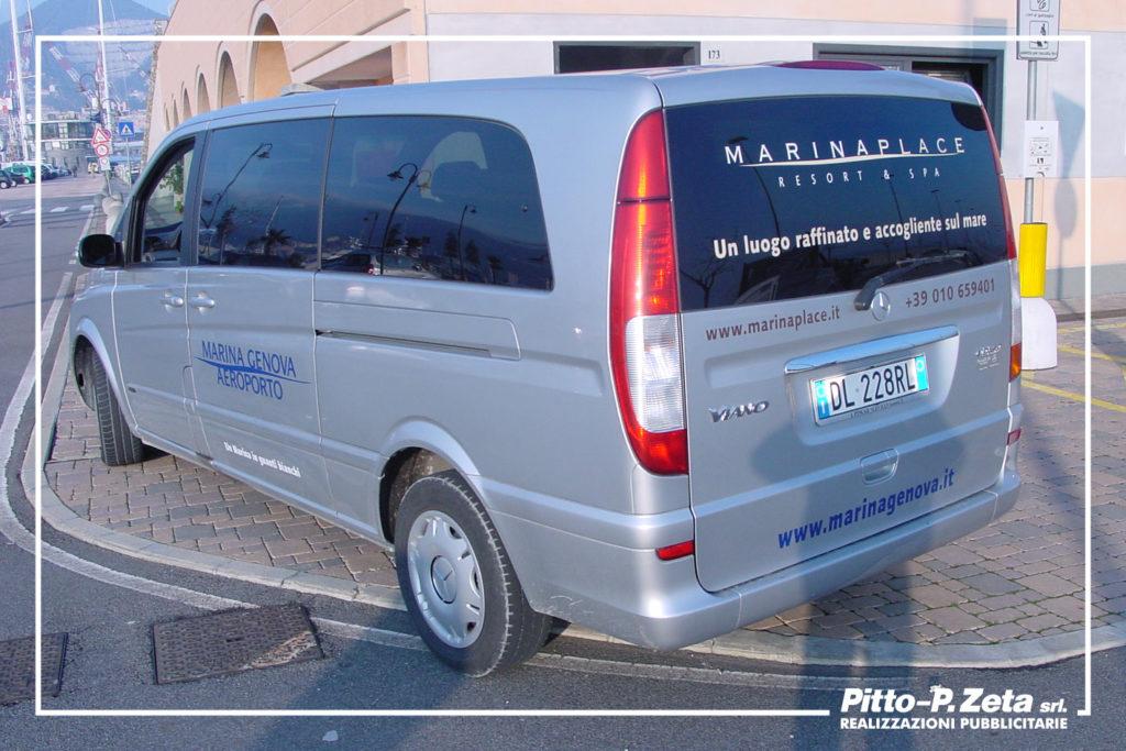 Marina Genova Aeroporto: allestimento furgone.