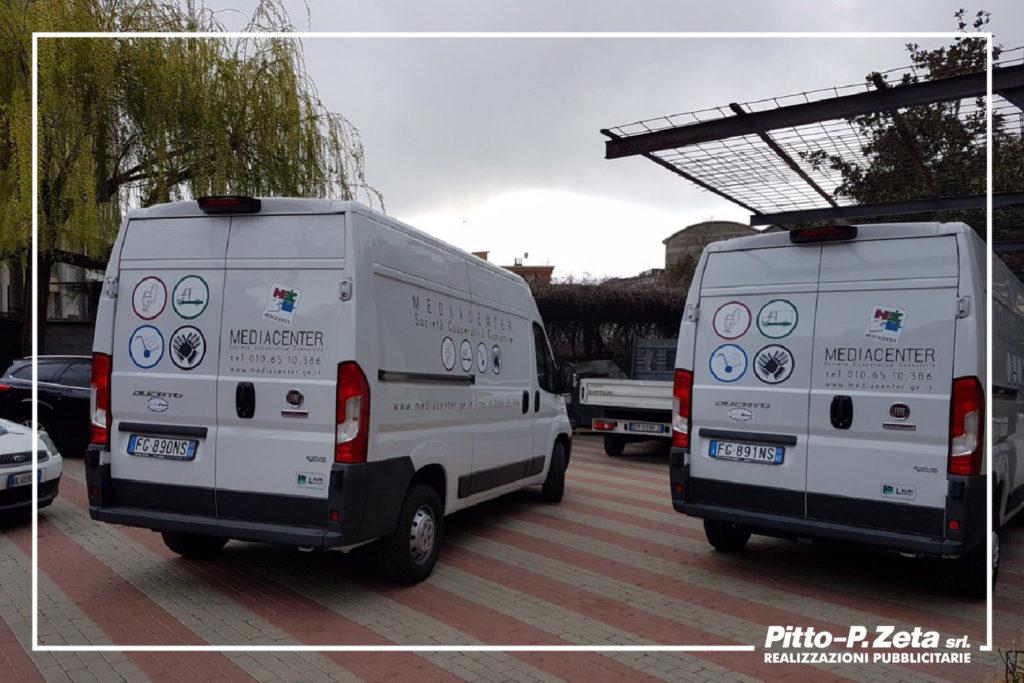 Mediacenter: allestimento furgoni.