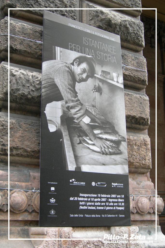 Palazzo Borsa: stendardo.