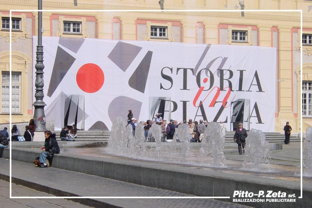 Allestimento Palazzo Ducale, Genova. Storia in Piazza.