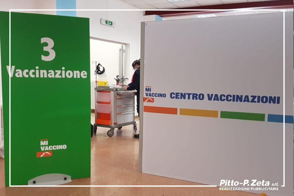 pannelli stampati_centro vaccinazioni Chiavari_2